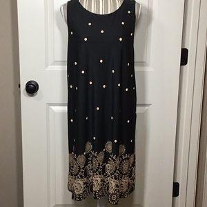 Sleeveless shift dress, XXL